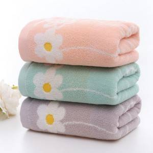 Home Textile Factory Wholesale High Quality Cheap 100% Cotton Jacquard Terry Face Towel