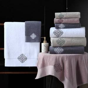 China Wholesale White Bath Rugs Suppliers - Supply OEM China 100% Cotton luxury Bath Hand Face Towel – Natural Wind
