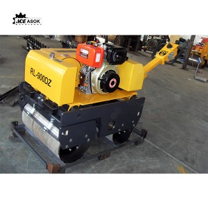 Steering Double-Drum Vibratory Roller