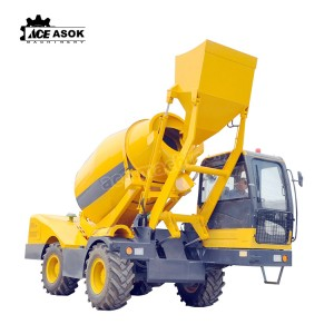 China wholesale Mobile Concrete Mixer Truck - 4.0 M3 Concrete Mixer Truck – ACE Machinery