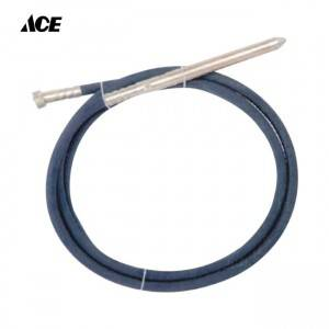 Low price for Concrete Vibrator Motor Hose - 45mm Half moon Turkey type Concrete vibrator shaft  – ACE Machinery