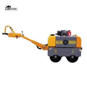 Double-Drum Vibratory Roller