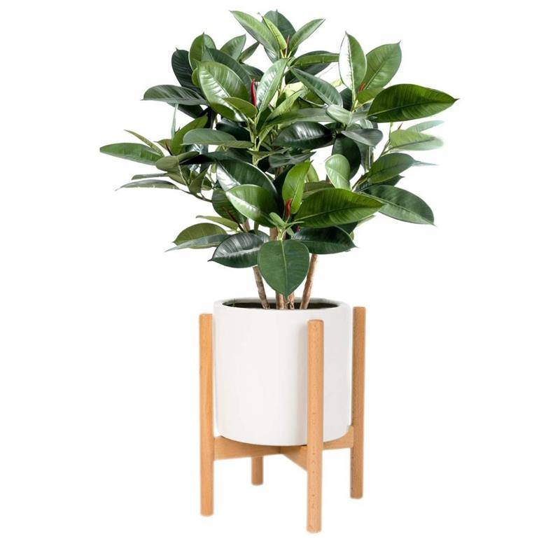 OEM/ODM China Vertical Plant Stand - Pine Wood Plant Stand Indoor Outdoor Multi Layer Flower Shelf Rack Holder in Garden Balcony Patio Living room – AJ UNION