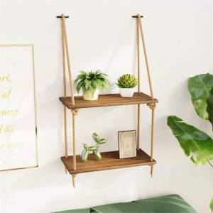 Floating mount Mounted Set Wood Wall hanging plant Triangle Wooden Box shelf Shelves for Living Room Bedroom Bathroom