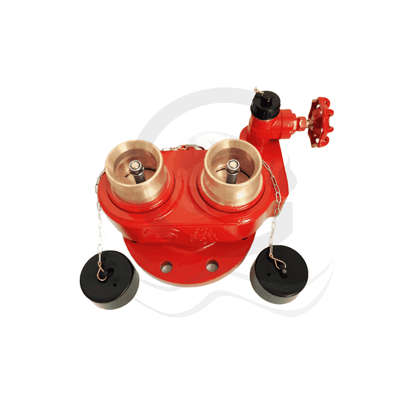Best Price on Landing Valve Screw - 2 way breeching inlet  – World Fire Fighting Equipment