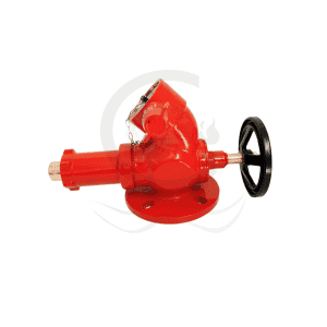 Flange pressure reducing valve