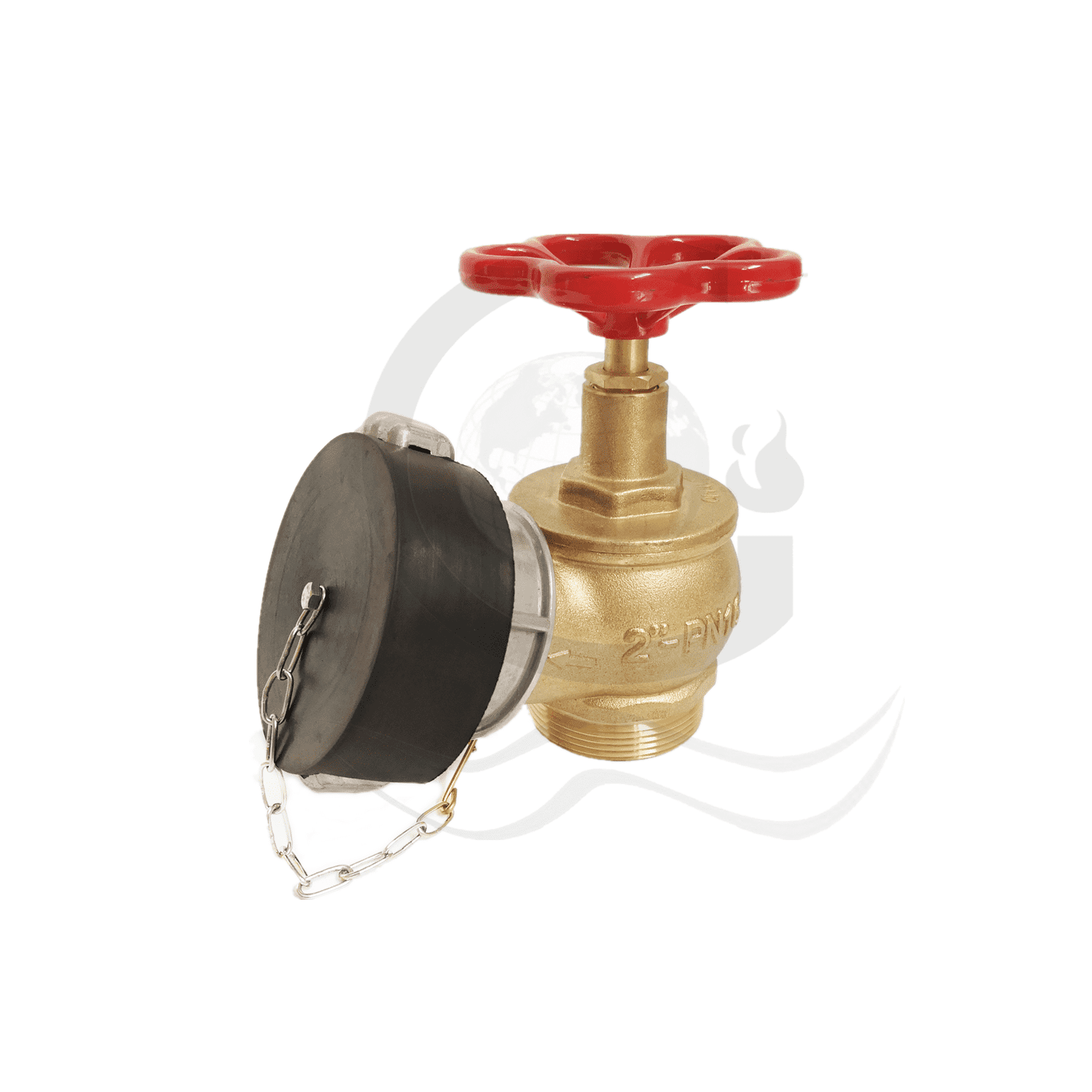 OEM manufacturer Oblique Flange Landing Valve - TCVN landing valve  – World Fire Fighting Equipment