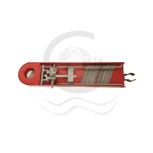 Fire hose rack