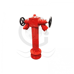 wet type fire hydrant