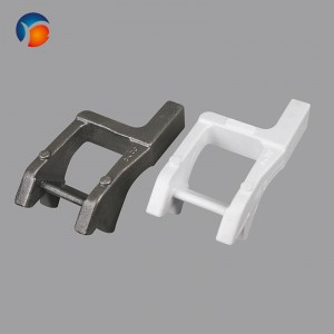 Manufacturer of Train And Railway Steel Spare Parts - Quoted price for China High Precision Ductile Iron Lost Foam Casting – Yingyi