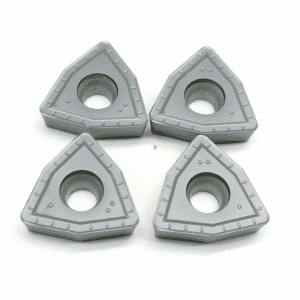 High definition Carbide Turning Inserts - Tungsten Carbide CNC Indexable Inserts for Drilling WCMX type – CEMENTED CARBIDE
