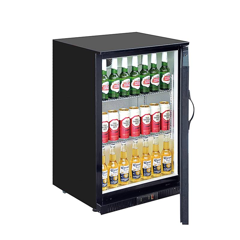 Under Counter Single Swing Solid Door Cold Drinks & Bear Back Bar Storage Cooler Fridge