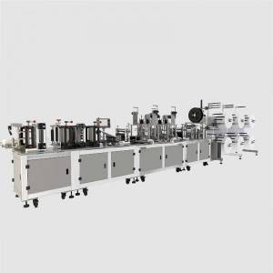 High definition China Fully Automatic N95 Mask Mechanism Bag Machine with High Speed