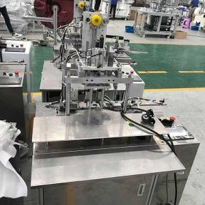 OEM Factory for Three Ply Disposable Mask Machine - Manual operation earloop welding machine – Naiwei