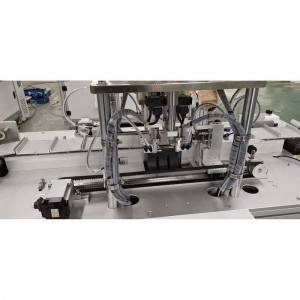 One drag one servo motor outer earloop automatic mask making machine