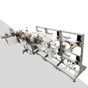Short Lead Time for 3ply Disposal Mask Machine - KF94 mask machine – Naiwei