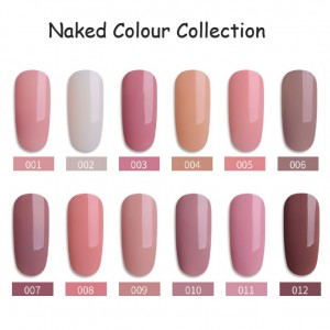 Europe style for Red Carpet Gel Polish - Nude Pure  Colors Soak off Gel Polish  – NEW COLOR