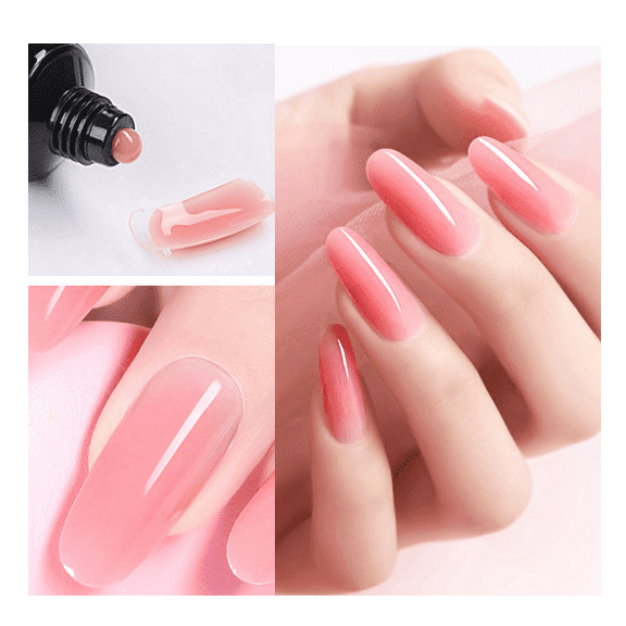 High definition Poly Extention Gel -  Nail Extension Gel hard & flexible & easy to create structure  from professional supplier  – NEW COLOR
