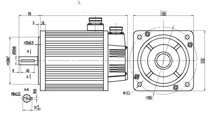 150 Series Servo Motor Parameters