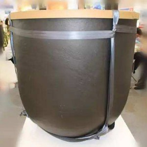 China Manufacturer High Purity Carbon Graphite Crucible for Melting
