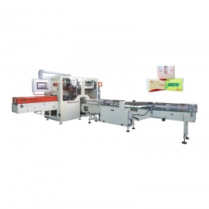 OK-602K Type Full Servo High Speed Facial Tissue Single Packing Machine