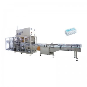 Professional China Plane Ear Loop Mask Making Machine - OK-902 Type Mask Bundling Packing Machine – OK