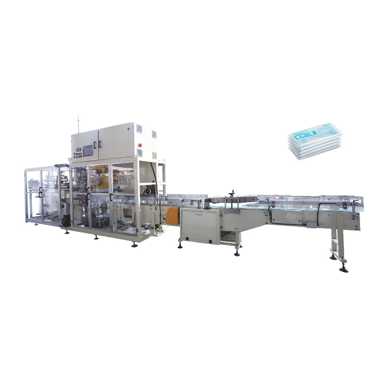 Chinese Professional 3 Ply Surgical Plane Mask Making Machine - OK-902 Type Mask Bundling Packing Machine – OK Featured Image