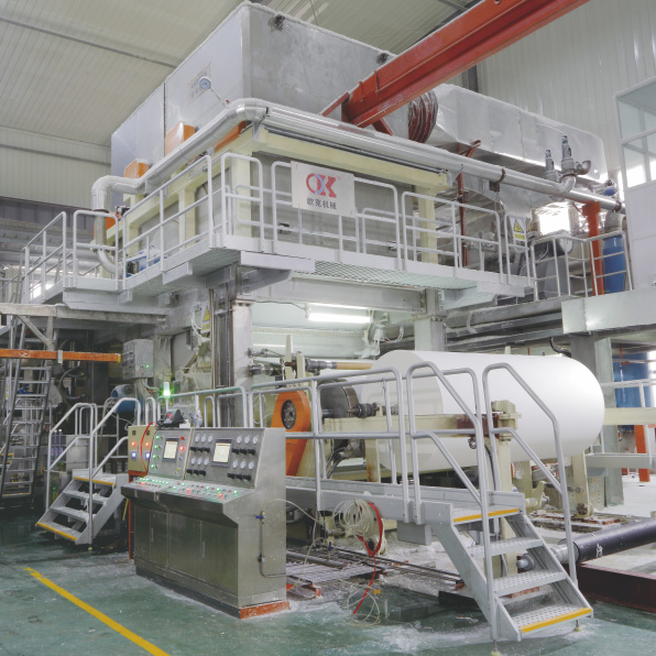 professional factory for M Fold Tissue Paper Machine - OK High Speed Vacuum Cylinder Tissue Paper Machine – OK