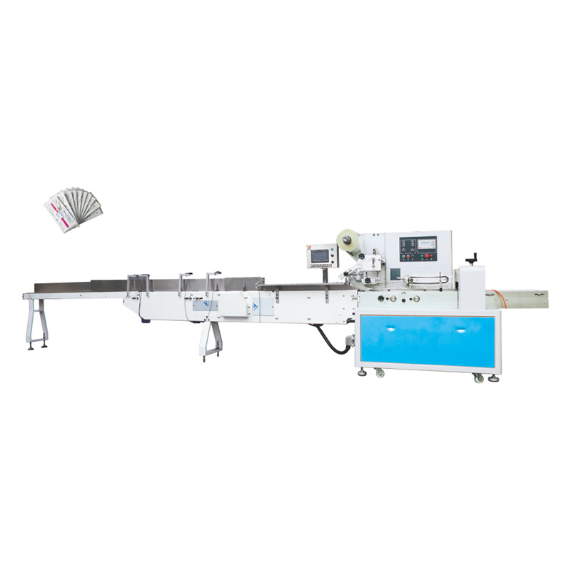 Best quality Flat Mask Ear Loop Ultrasonic Welding Machine - OK-208 Type Mask Packing Machine – OK Featured Image
