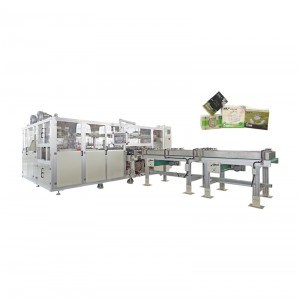 China Cheap price Full Automatic Facial Tissue Making Machine - OK-902E Type Facial Tissue High-speed Bundling Packing Machine – OK