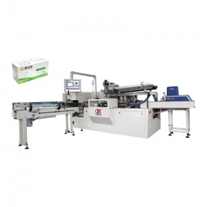 2020 Good Quality Flat Mask Folding Machine - OK-100 Type Mask Automatic Cartoning Machine – OK