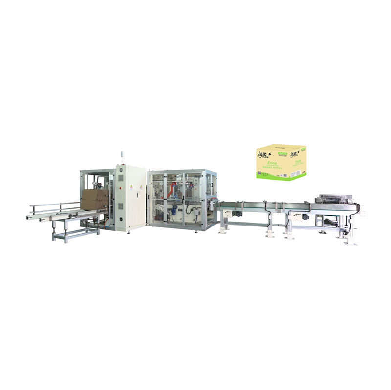 China wholesale Facial Tissue Making Machine - OK-102 Type Full-auto Case Packer – OK