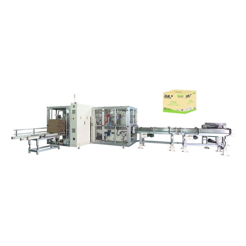 China wholesale Toilet Paper Kitchen Towel Making Machine - OK-102 Type Full-Auto  Case Packer – OK