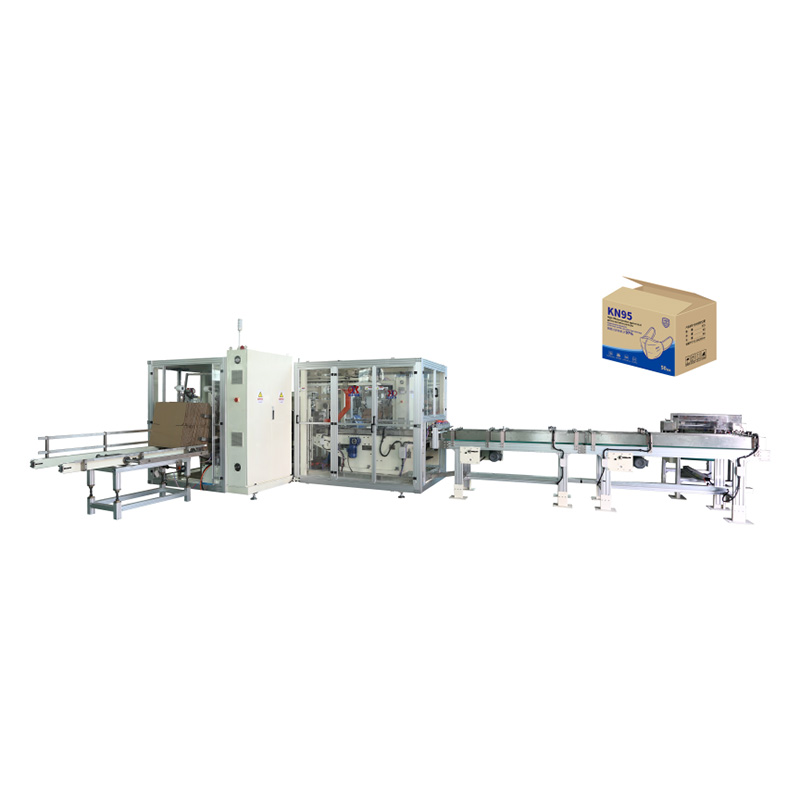High Performance Blank Folded Face Mask Making Machine - OK-102 Type Mask Automatic Case Packer – OK