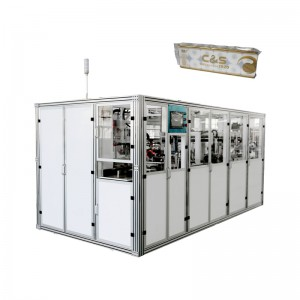 Reasonable price Toilet Paper Rewinding Machine - OK-903A Type Toilet Tissue Bundling Packing Machine – OK