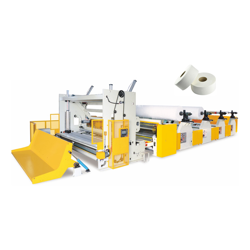 Cheap price Toilet Tissue Machine - OK-FQ-4000,3600,2900Type High speed Jumbo Roll Slitting Rewinder – OK