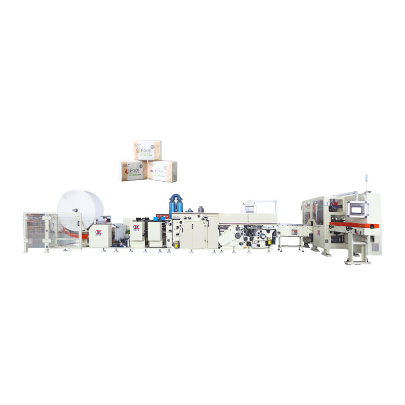 2020 wholesale price Standard Size Handkerchief Tissue Folding Packing Machine - OK-120 Type High Speed Square Tissue Production Line – OK