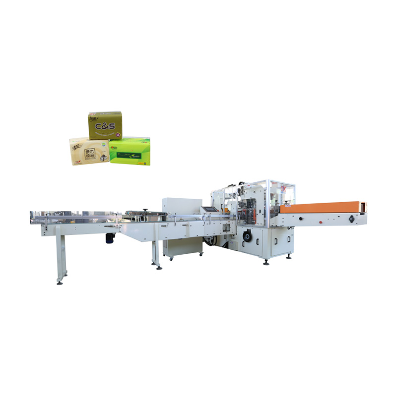 Factory source Automatic Facial Tissue Paper Cutting Machine - OK-602 Type Horizontal Pushing Type Facial Tissue Packing Machine – OK
