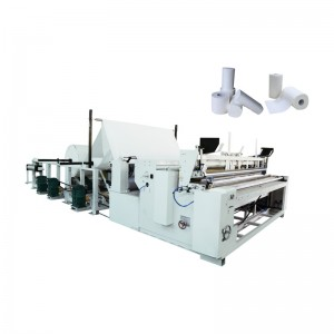 New Arrival China Toilet Paper Making Machine - Semi-Auto Toilet Tissue Rewinder – OK