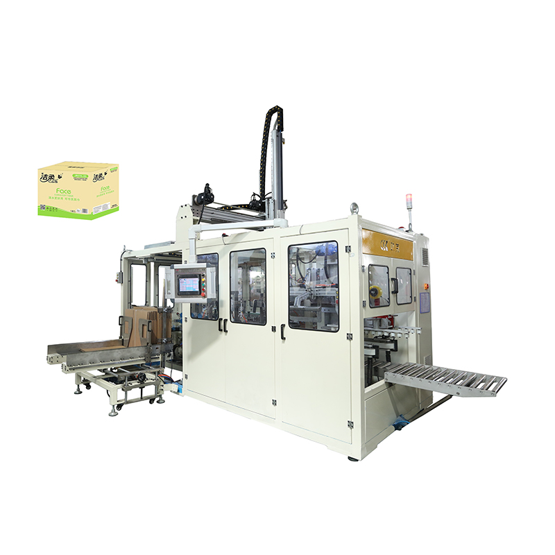OK-102B Suction Type Case Packer