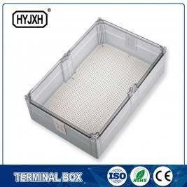 p343-p344  (Cooperate with T-type terminal block use) transparency cover Water proof junction box