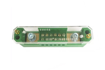 double-end single pole connection terminal block for metering box