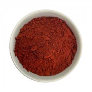 Transparent iron oxide