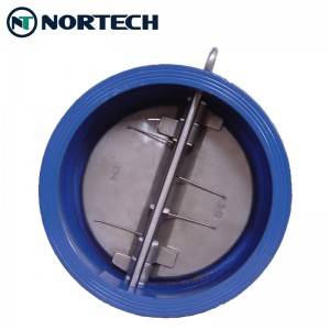 Low price for Forged Steel Check Valve - Rubber Seat Dual Plate Check Valve – Nortech