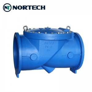 Good quality Thin Wafer Check Valve - Rubber Disc Swing Check Valve – Nortech