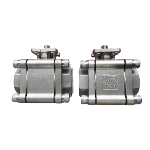 Best Price for Lever Trunnion Mounted Ball Valve - 3 pcs threaded 2000WOG ball valve – Newsway
