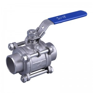 Hot sale Wcb Trunnion Mounted Ball Valve - 3pcs Welded Ball Valve – Newsway