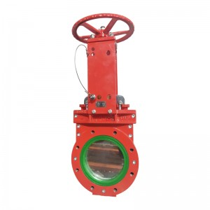 Cheap PriceList for Flanged Cryogenic Gate Valve - Polyurethane Knife Gate Valve – Newsway