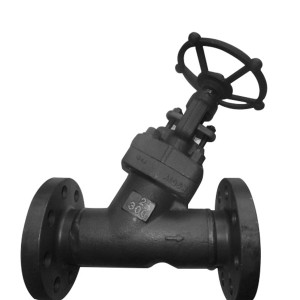 Factory wholesale Api600 Cast Steel Gate Valve - Y Flange Globe Valve – Newsway