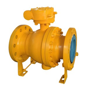 Pn16 Ball Valve - WCB trunnion mounted ball valve – Newsway